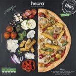 vegan pizza heura lactosevrij jumbo