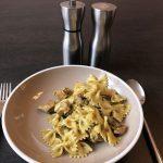 pasta met pesto en kip lweethetwel recept