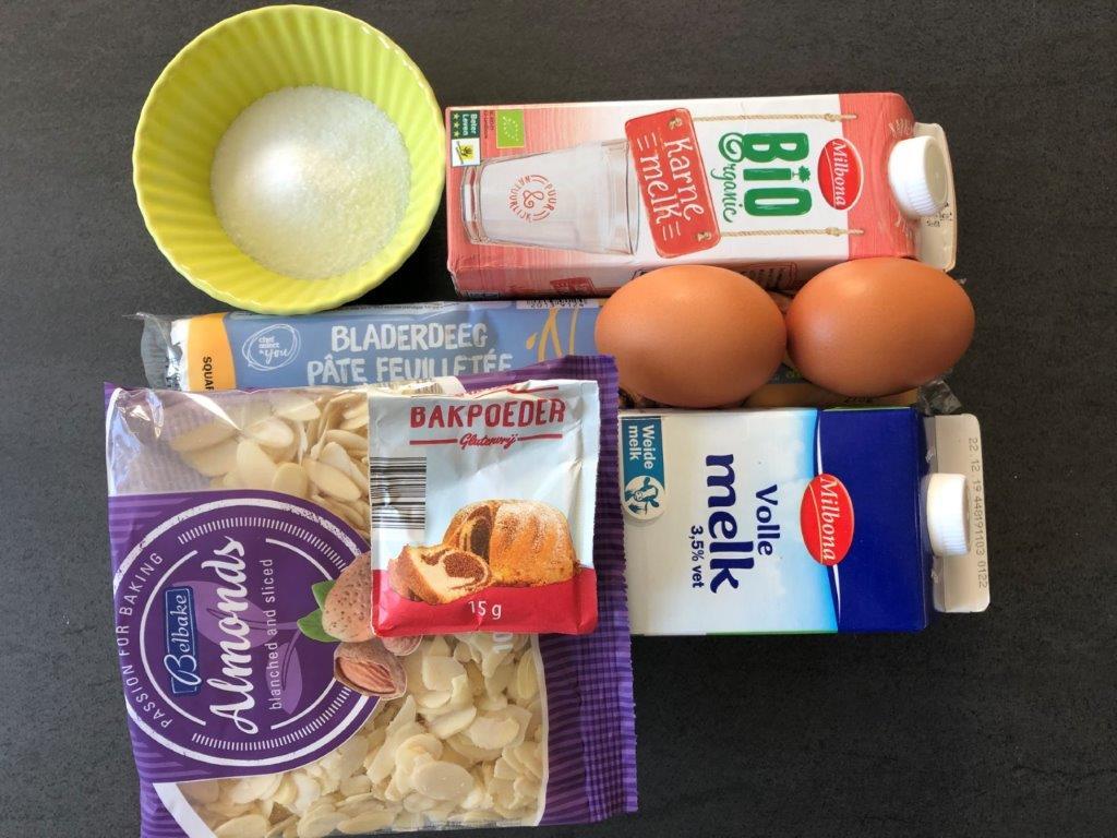 Ingrediënten mattentaarten