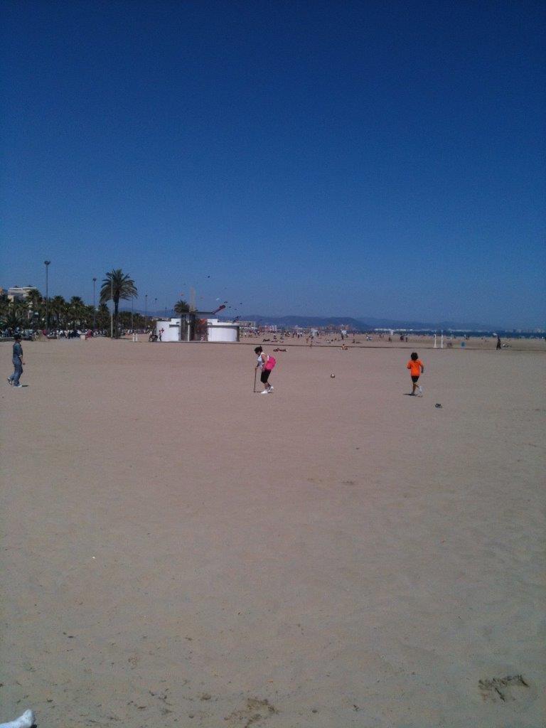 strand stedentrip naar Valencia