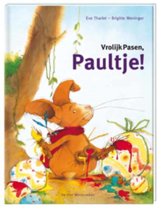 Prentenboeken thema lente en pasen vrolijk pasen paultje