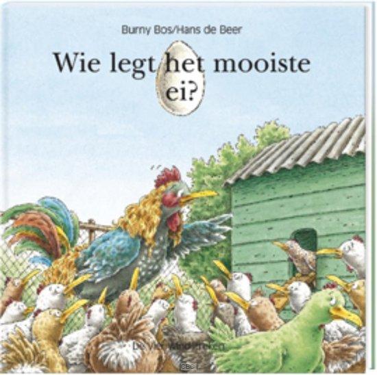 Prentenboeken thema lente en pasen wie legt het mooiste ei