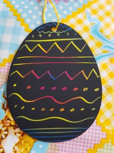 eieren knutselen met thema pasen