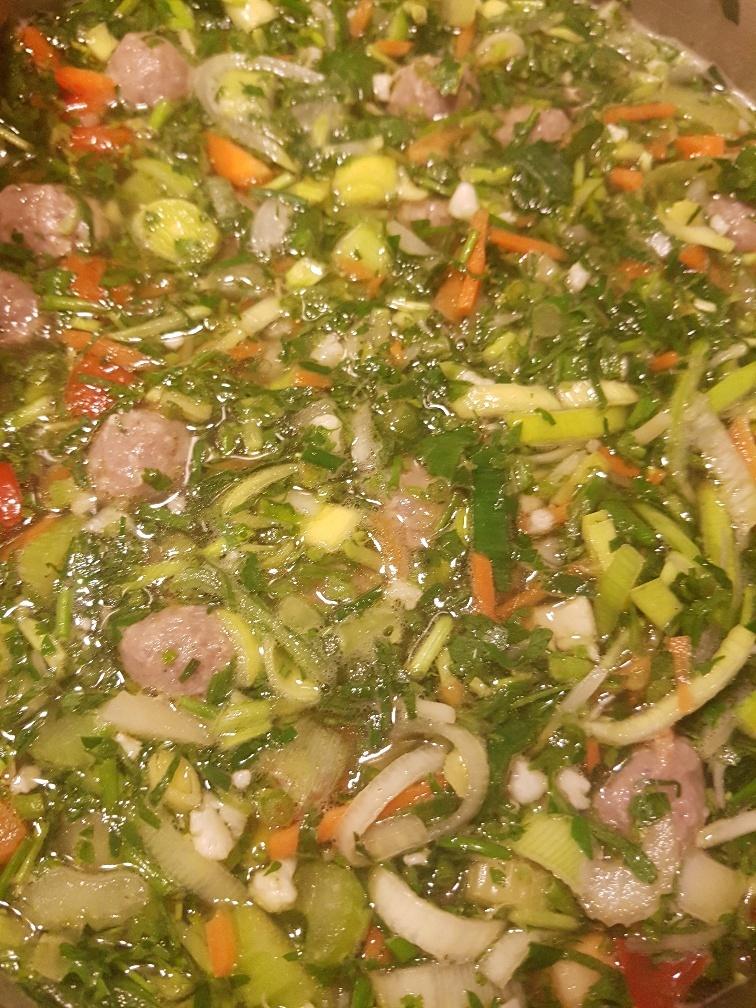 groentesoep a la Mama
