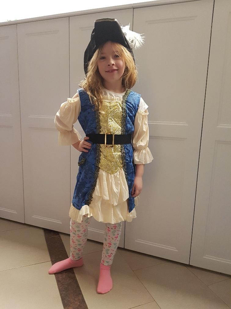 carnavalskleding voor kinderen piratenjurk