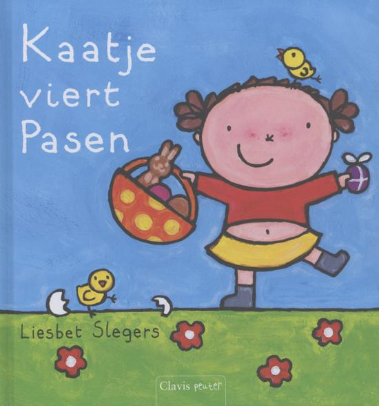 Prentenboeken thema lente en pasen kaatje viert pasen