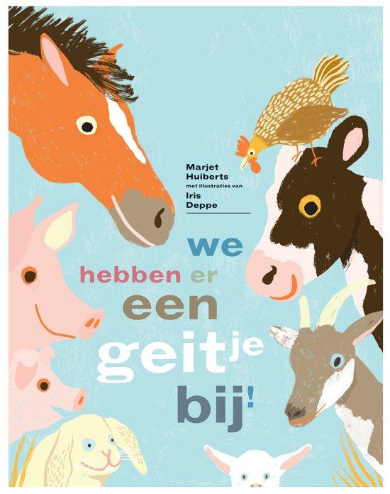 Prentenboeken thema lente en pasen we hebben er een geitje bij