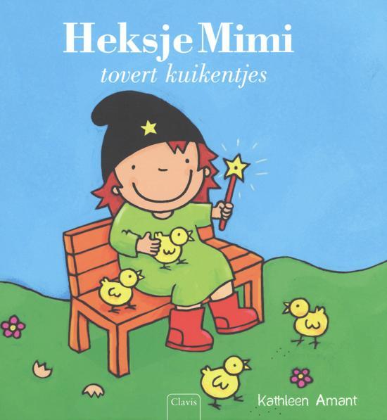Prentenboeken thema lente en pasen heksje mimi tovert kuikentjes