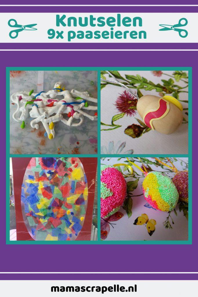 DIY paaseieren versieren mamascapelle pinterest pin