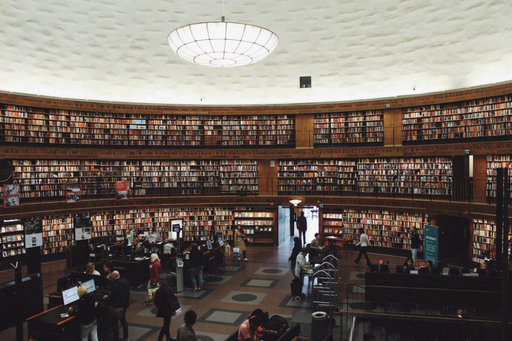 kindvriendelijk Stockholm stadsbibliotheek
