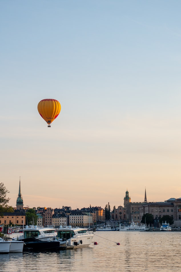kindvriendelijk Stockholm luchtballon haven