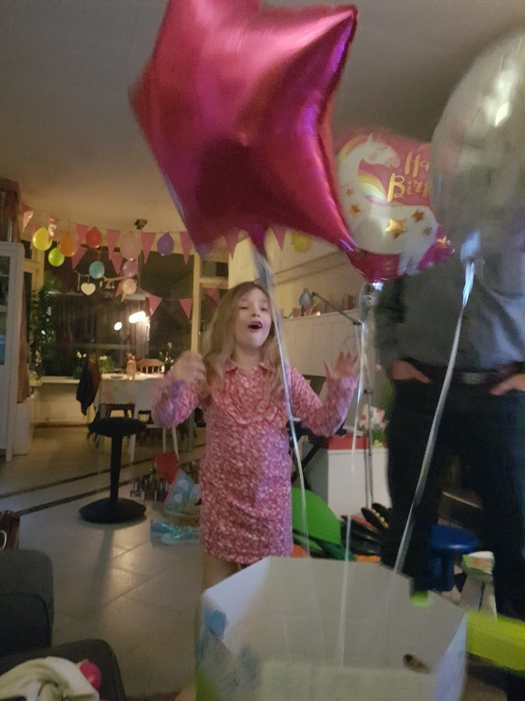 Greetz ballonen jarig tijdens Corona
