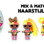 L.O.L. Surprise! #Hairvibes Unwrapping kapster haarpop haarveranderen lolpop haarstijlen mix&Match