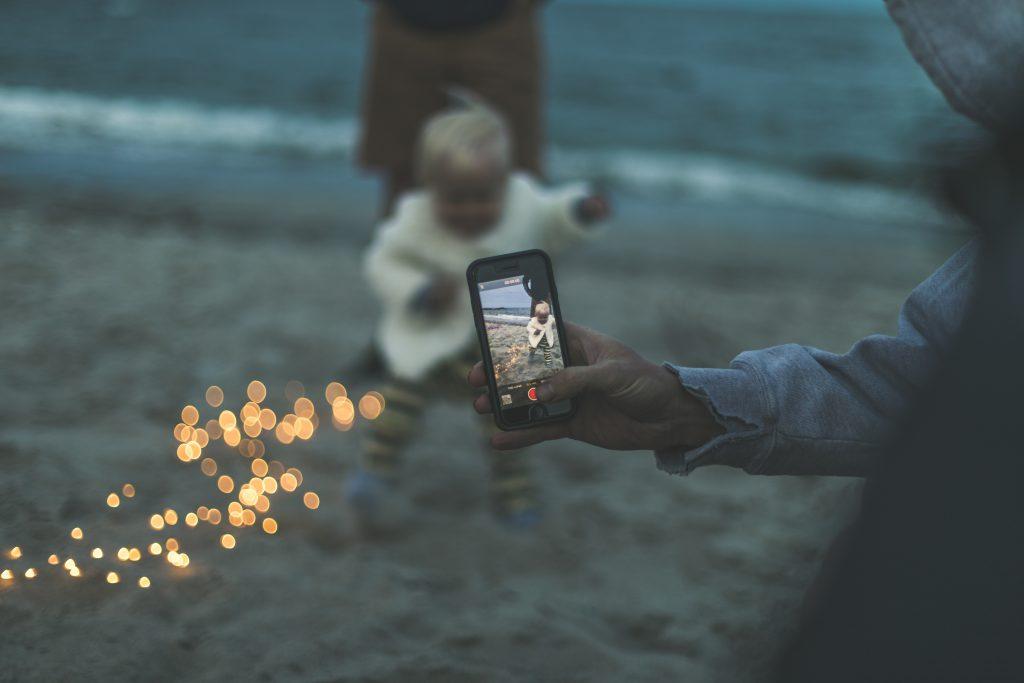 beste mobiele foto's van je kinderen