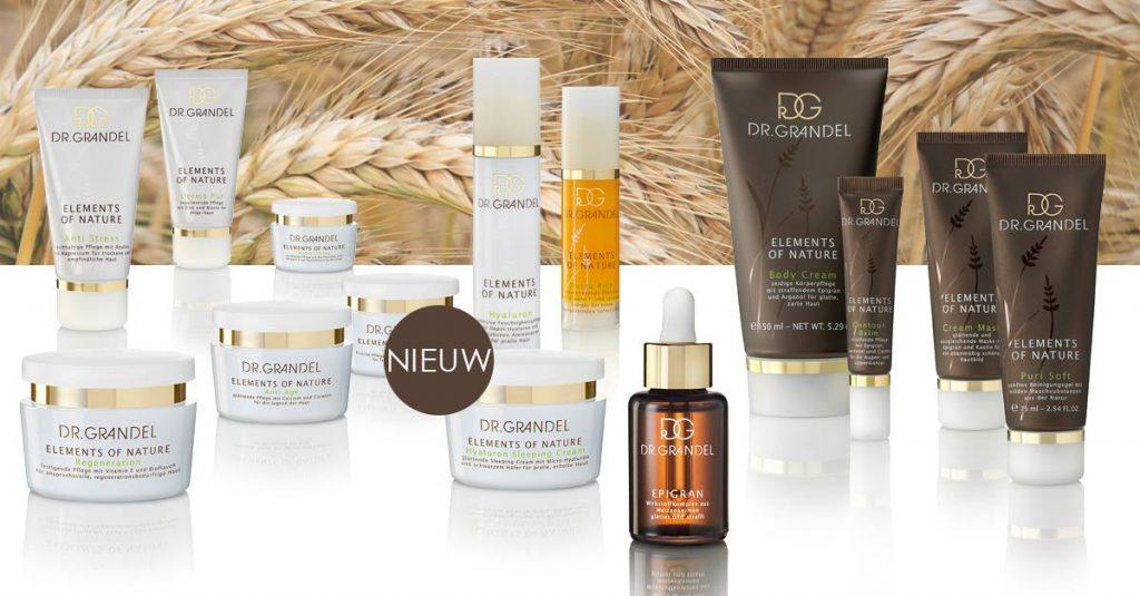 producten van Elements of nature