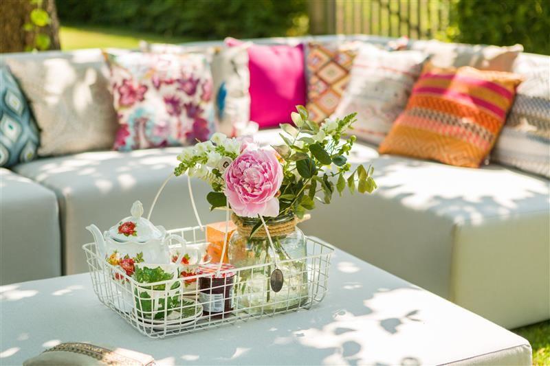 kindvriendelijke tuin met lekker loungeplekken