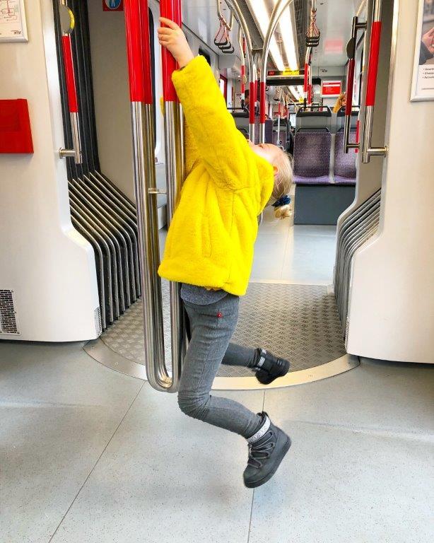 motorische faalangst kind hangt in randstadrail