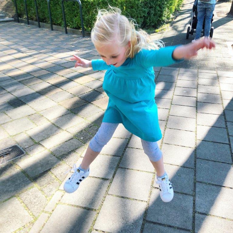 motorische faalangst springen op straat