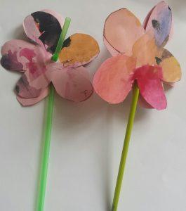 bloem knutselen