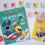 leren lezen met Woezel & Pip het grote abc boek en abc memo woezel en pip