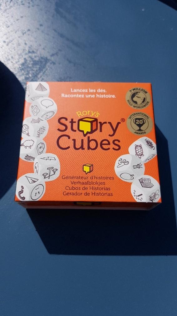 Story Cubes familiespel voor de vakantie