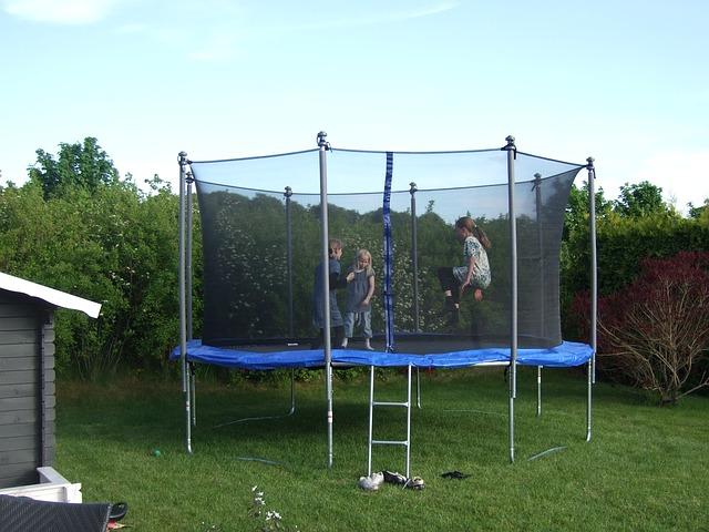 grote trampoline voor meer kinderen
