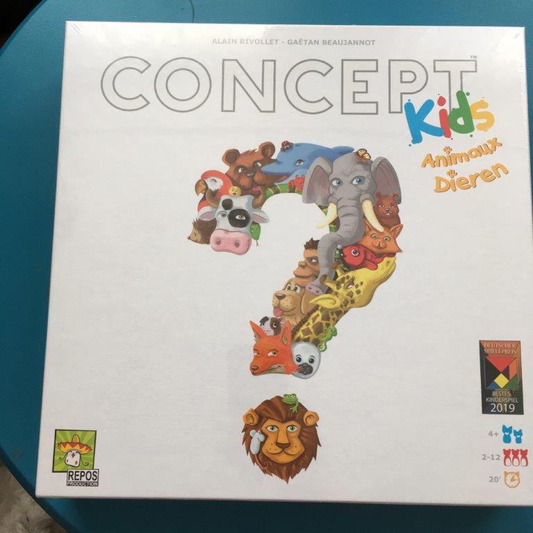 Concept Kids familiespel voor de vakantie