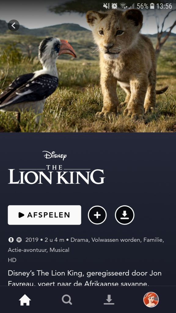 disney plus lion king