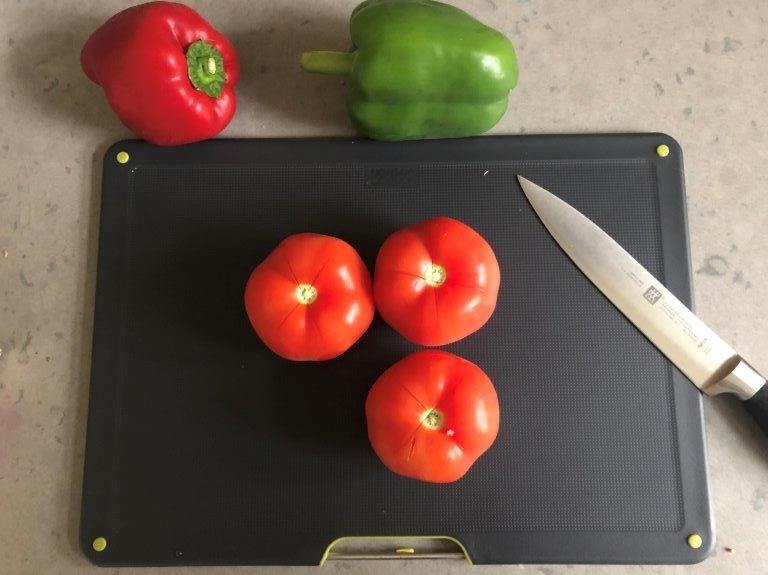 Joseph Joseph snijplanken met groente