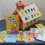 Uk & Puk - tel en beweeg educatief spel van Zwijssen