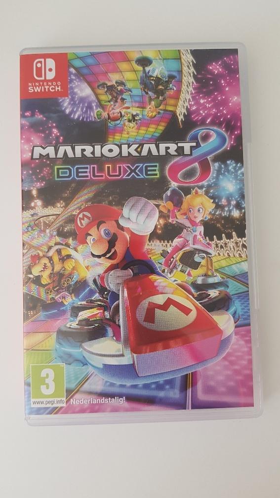 MarioKart 8 deluxe voor de Nintendo Switch