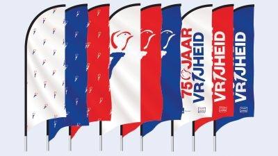 Herdenk de vrijheid virtueel met je kinderen 75 jaar vrijheid vlaggen