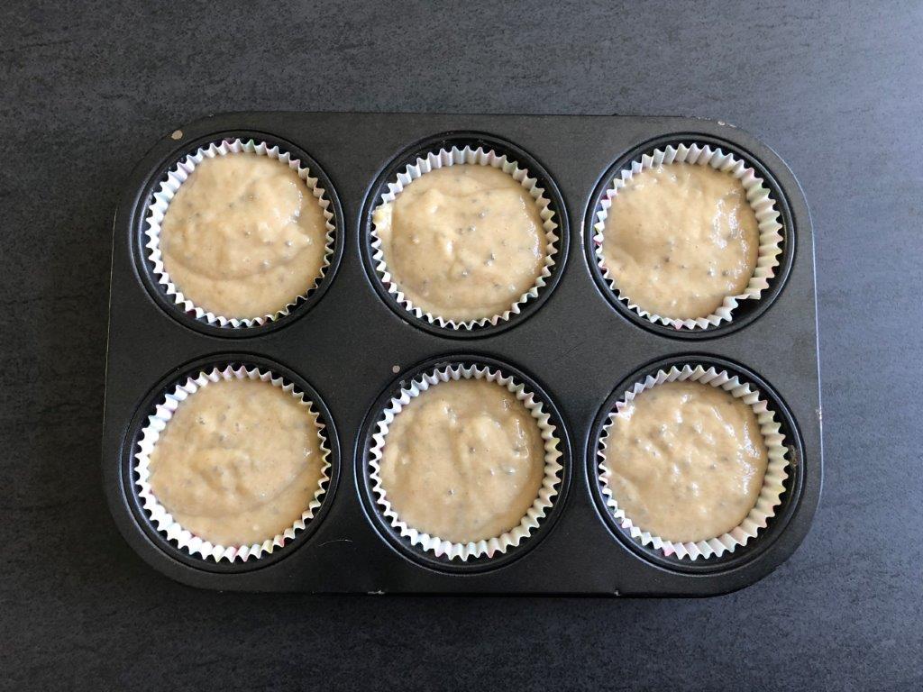 muffins op bakplaat