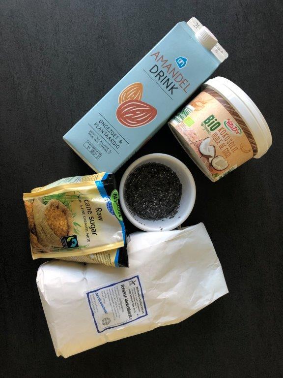 Ingredienten vegan muffins