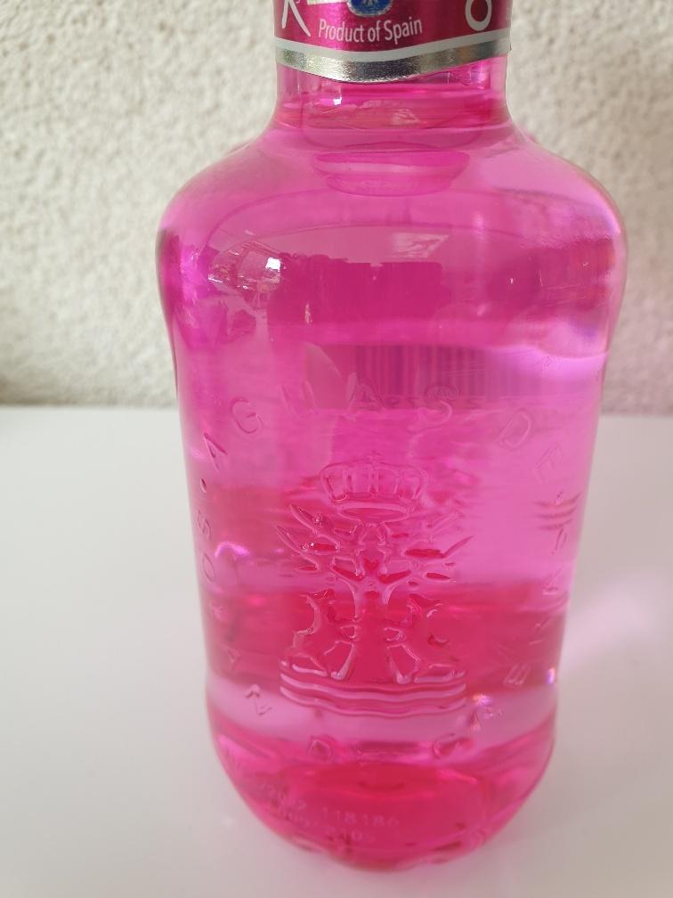Roze fles voor Pink Ribbon