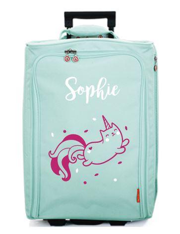 gepersonaliseerde koffer voor kinderen