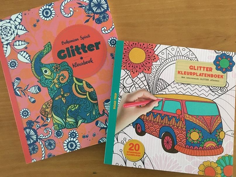 glitter kleurboeken