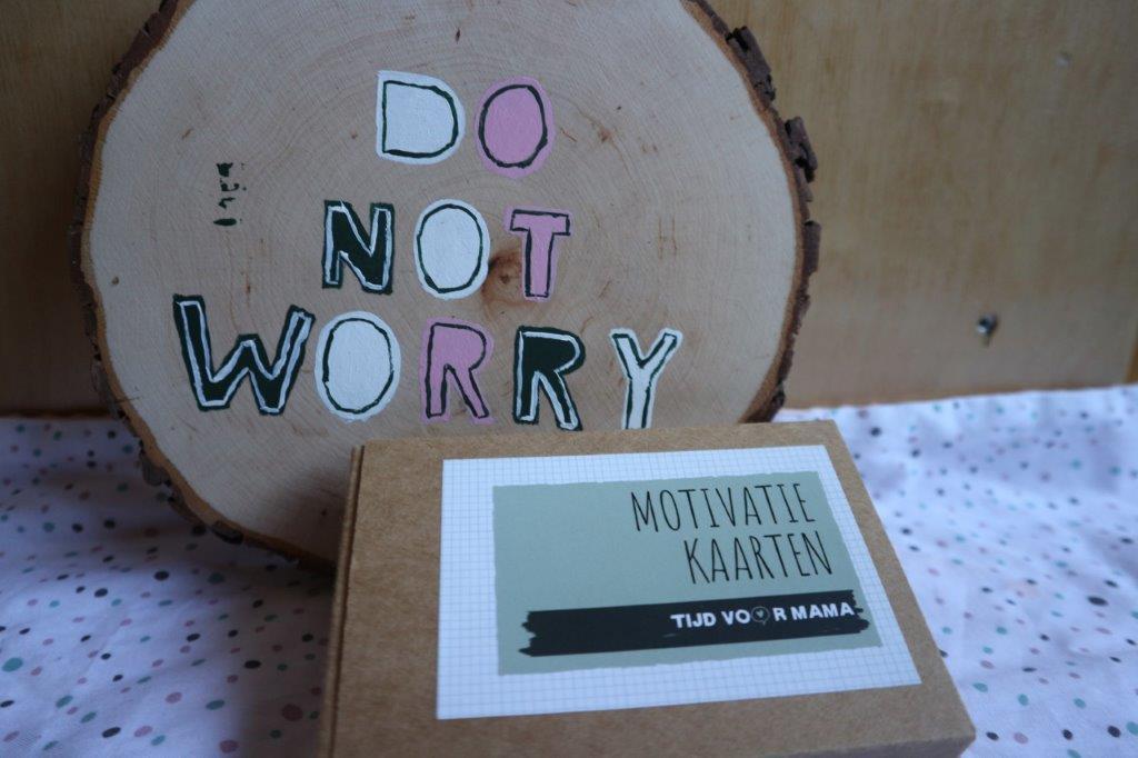 motivatie kaarten tijd voor mama