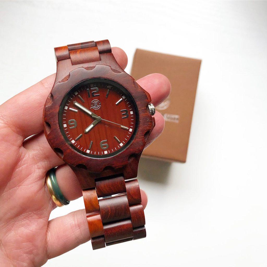 Greenwatch Houten Horloge