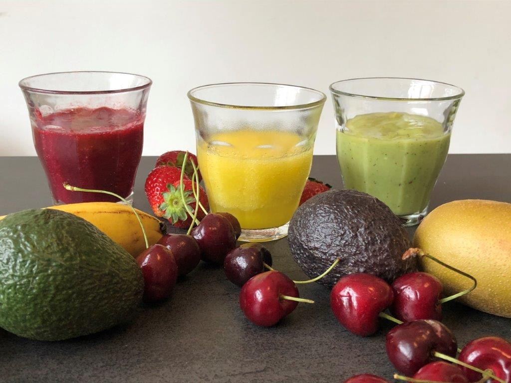 3 gezonde Supersnelle Smoothies