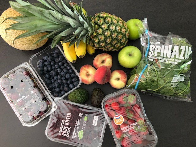 ingredienten voor Supersnelle Smoothies