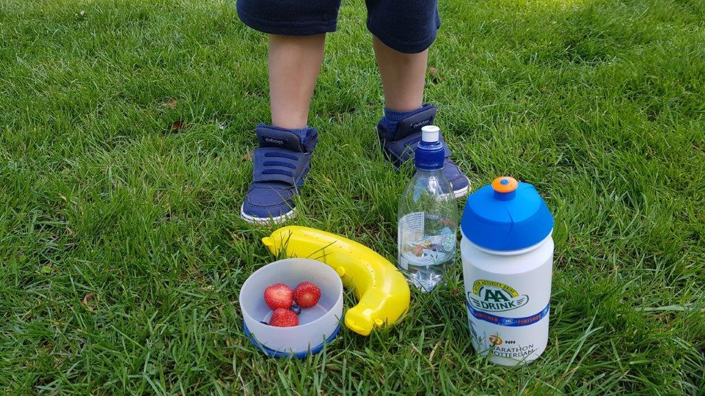 gezonde snack bij de ouder-kind bootcamp
