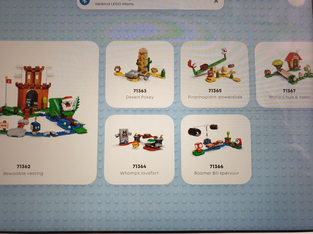 Lego Super Mario uitbreidingssets