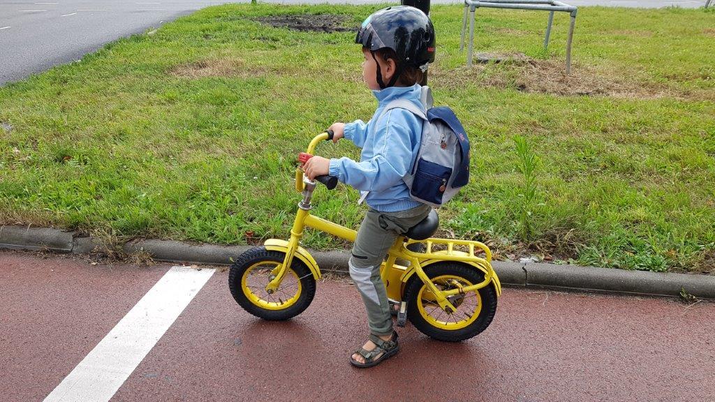 veilig op de fiets naar school