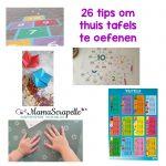 26 tips om thuis tafels te oefenen