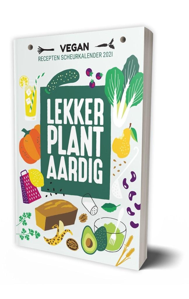 Vegan scheurkalender Lekker Plantaardig
