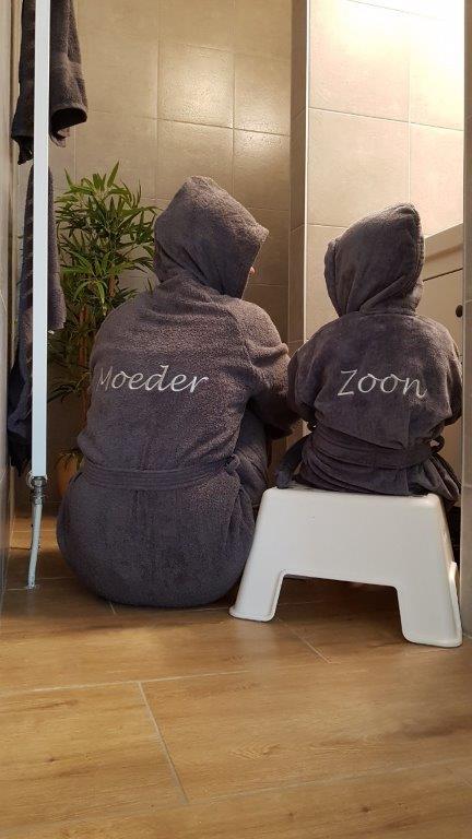 persoonlijke badjas