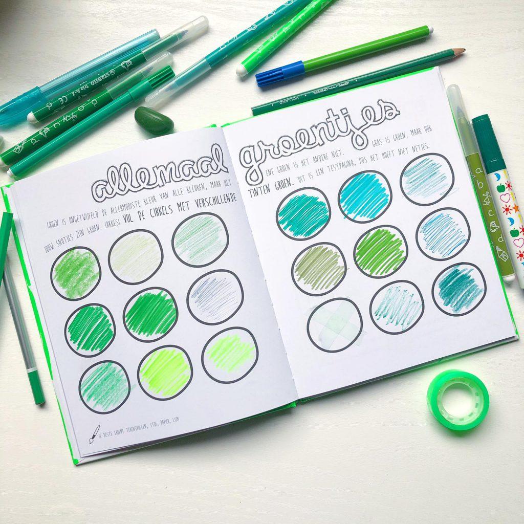 maak dit boek groen