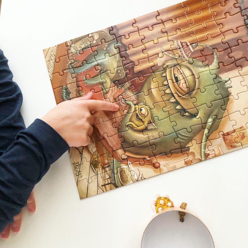 Zozoville monsterlijke puzzels en spellen