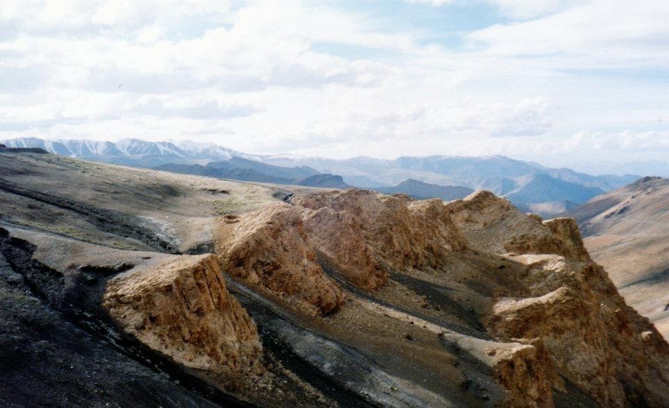 magnetische bergen Himalaya